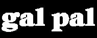 Gal Pal Logo - White